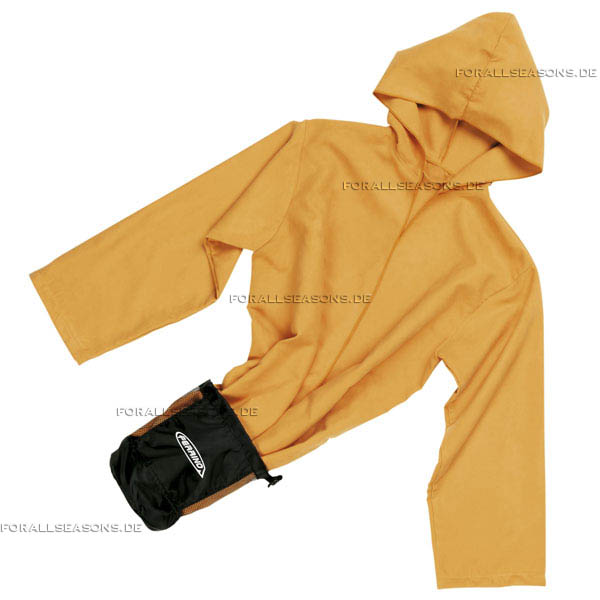 Image Sport Robe Lite - leichter Sport Bademantel in orange