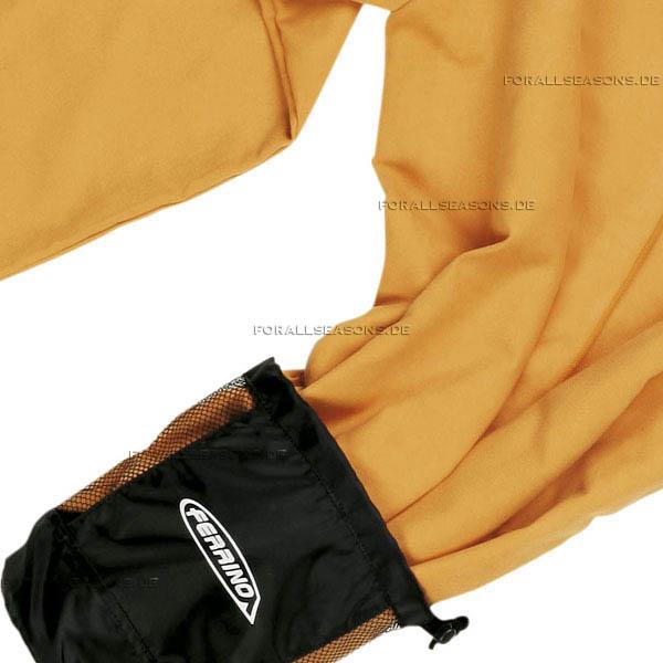 Image Sport Robe Lite - leichter Sport Bademantel in orange