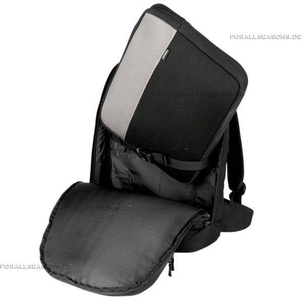 Image Vector 17 - Notebook Rucksack mit vielen Taschen